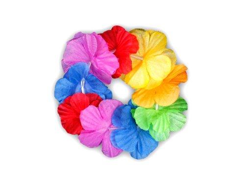Trendmaus.de Hawaii Bracelet Fleur Hula Rainbow 01
