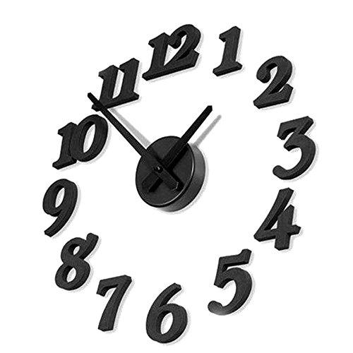 TrifyCore Reloj Pared Números Adhesivos Moda DIY