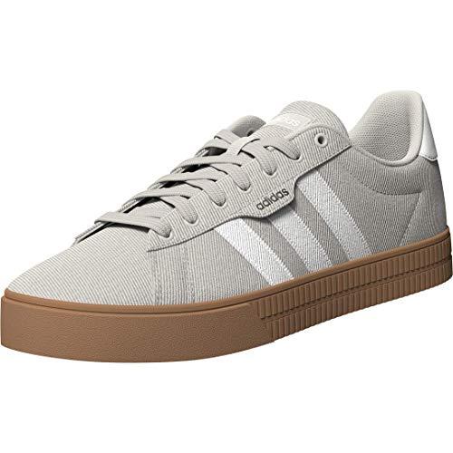 adidas mens Daily 3.0 Skate Shoe, Orbit Grey/White/Gum10, 12 US