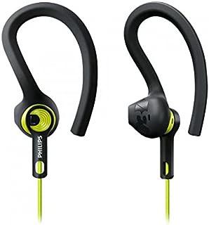 Philips ActionFit Sports Headphones - Carbon/Lime (SHQ1400CL)