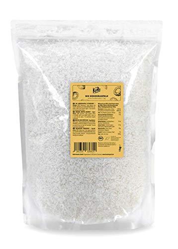 KoRo - Bio Kokosraspeln 1 kg Vorteilspack - Ohne Zuckerzusatz oder Konservierungsstoffe