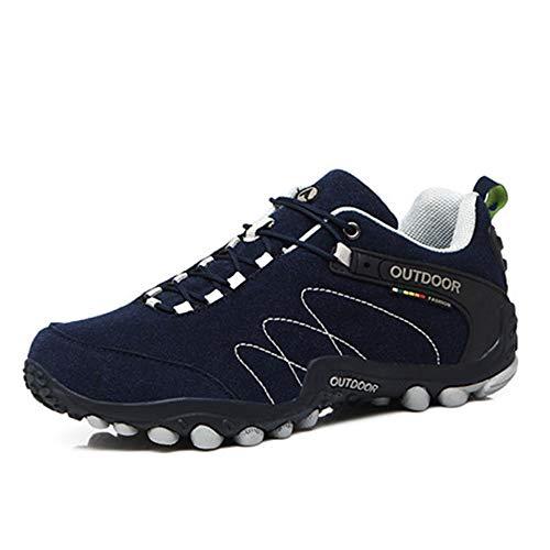Los Zapatos Impermeables para Hombres y Mujeres Usan Zapatos de Escalada para Escalar Botas de Cuero para Caminar Zapatos para Caminar