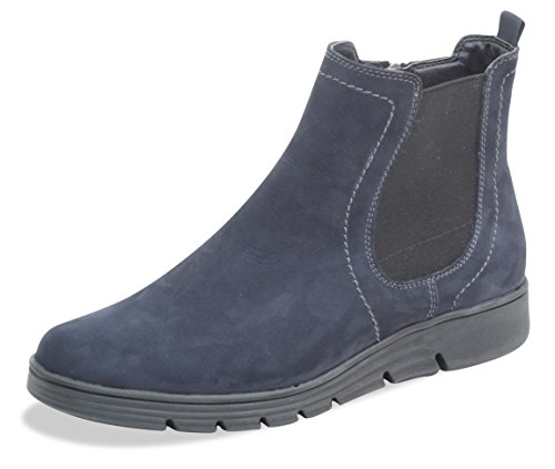 Caprice Damen 9-9-25448-21 Chelsea Boots, Blau (Ocean Nubuc 869), 39 EU