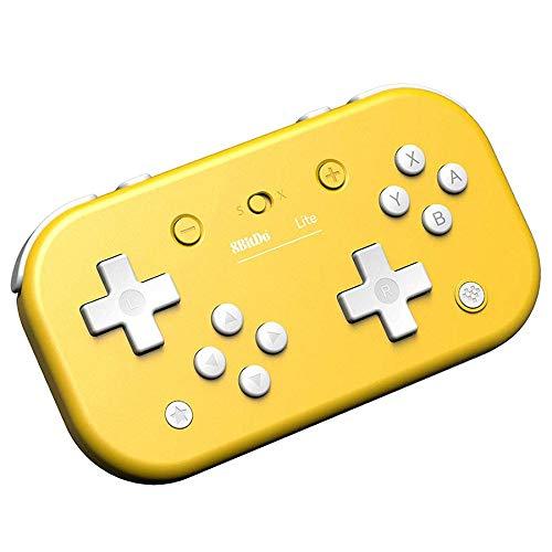 QUMOX 8BitDo Lite Y Gamepad Bluetooth per Switch Lite/Switch/Steam/Raspberry pi Giallo