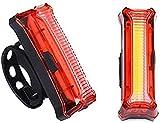 Luz trasera de bicicleta LED, USB recargable 360 & deg;Luz de piso para mayor visibilidad y protección, para MTB, bicicleta de carretera, luz trasera, impermeable, ciclismo nocturno, lámpara LED