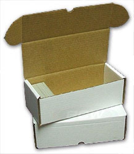 BCW Storage Box 500 Count (Quantity of 50) - Corrugated Cardboard Storage Box image