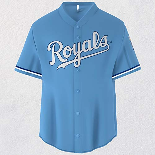 Hallmark MLB Major League Baseball Kansas City Royals Jersey Keepsake Christmas Ornaments