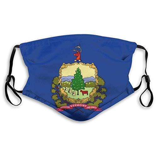 Bandera del Estado de Vermont Cubie-rta Face Mouth Cubie-rta