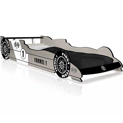 Deuba F1 Enfant Design Formule 1 - Gris argenté - Coins arrondis