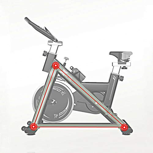 SLEE Exercise Spin Bike 11KG Flywheel Cycling Bicycle Fitness Indoor Home Training