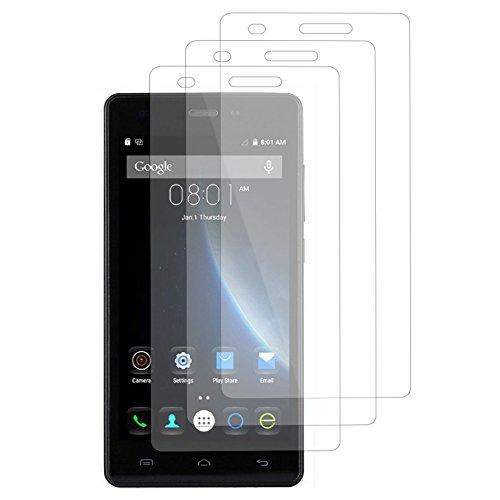 VComp-Shop® 3x Transparente Bildschirmschutzfolie für DOOGEE X5/ X5S/ X5 Pro - TRANSPARENT