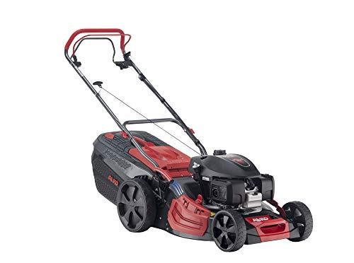 AL-KO Benzin-Rasenmäher Premium 520 SP-H (51 cm Schnittbreite, 3.2 kW Motorleistung, Robustes Stahlblechgehäuse, Hinterradantrieb, Mulchfunktion, Seitenauswurf, für Rasenflächen bis 1800 m²)