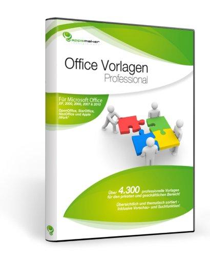 Office Vorlagen Professional [import allemand]