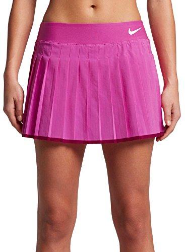 Nike Court Victory Damen Tennisrock – Crimson Tint, L, Damen, Rose, Large