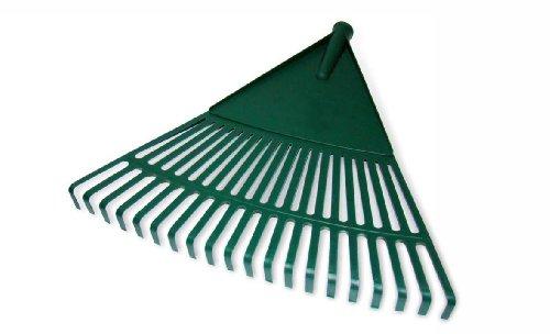 Silbor - Rastrello da giardino, in plastica, con 16 rebbi