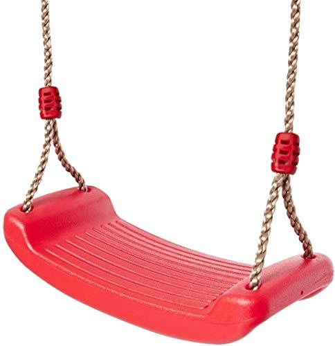 LUGEUK Swing para niños Interior al Aire Libre Jardín Swing Baby Swing Asiento de Swing de 3 a 6 años Juguetes para niños (Color : Red)