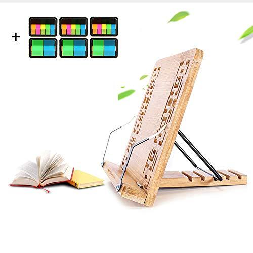 Support de livre en bambou sculp...