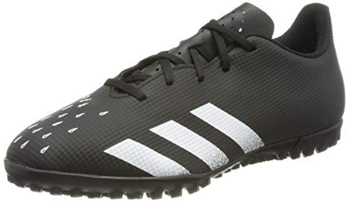 adidas Herren Predator Freak .4 Tf Soccer Shoe, Core Black Cloud White Core Black, Large EU