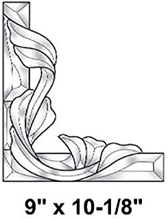 Stained Glass Supplies - Victorian Corner Bevel Cluster Right Side EC961R
