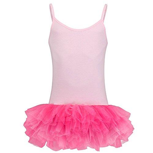 Partybob Männerballett Kostüm - Herren Ballerina Kleid (Rosa / Pink, Größe L)