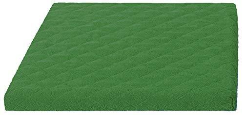 Trockner und Waschmaschinenschonbezug in versch. Farben, Größe: ca.60 x 60 x 5 cm von Brandseller (grün)