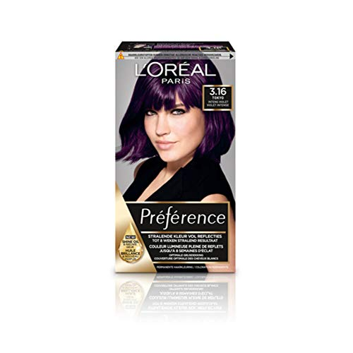 Loreal Preference infinia deep purple P38-1set