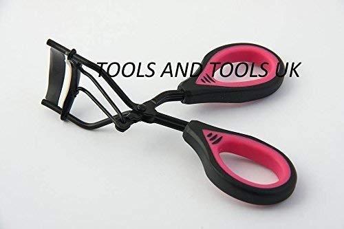 PRO Rose/Noir Maquillage Cils Bigoudis Curling style esthéticienne Parlor recourbe-cils
