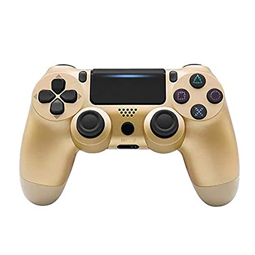 HALASHAO Gold PS4-Steuerung, Ps4 Wireless Controller, Wireless-Game-Controllers,Ordinary
