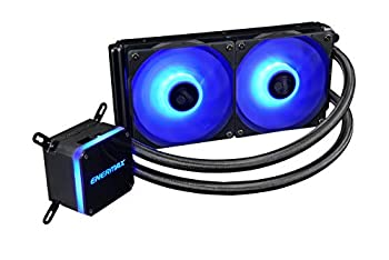 Enermax Liqmax III 240 RGB AIO CPU Liquid Cooler AMD AM4/Intel LGA 1200/1151 Dual Chamber Pump 12V 4-PIN RGB 5-Yr Warranty  ELC-LMT240-RGB