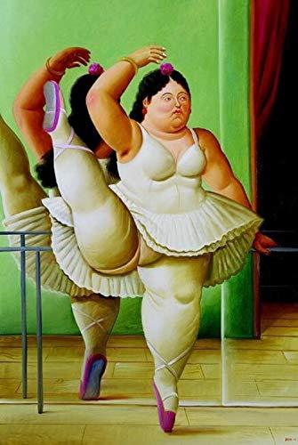 FPRW Puzzle Fat Woman Dancing By Botero Classic 1000 Pezzi Puzzle, Rompicapo Intelligenza Sviluppo Puzzle Giochi Giocattoli
