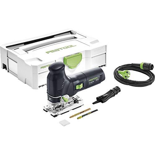 Festool PS 300 EQ-Plus TRION Pendelstichsäge, Schwarz, Grün