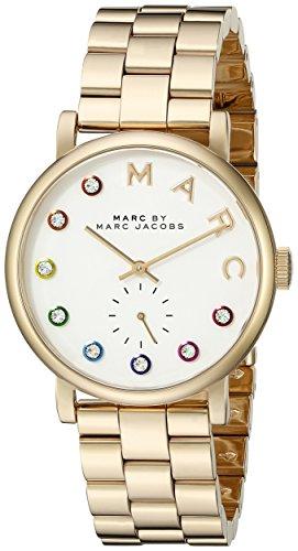 Marc by Marc Jacobs Damen Analog Quarz Uhr mit Edelstahl Armband MBM3440