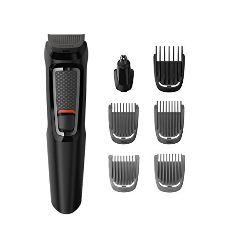 Philips MULTIGROOM Series 3000 MG3721 / 14 Tagliacapelli Nero Ricaricabile