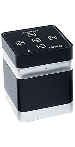 WHD Soundwaver+ Bluetooth Vibrationslautsprecher mit Exciter, verwandelt Oberflächen in klingende Flächen - kraftvoller Sound