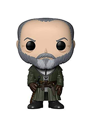Funko- Ser Figure 62 Davos Seaworth Personaggio Game of Thrones, Multicolore, 9 cm, 29164