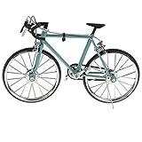 6種入り 合金製 レーシングバイクモデル 自転車模型 - 青#1