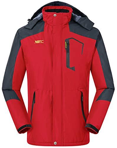 MoFiz Abrigo de Invierno Hombre Chaqueta de Esquí...