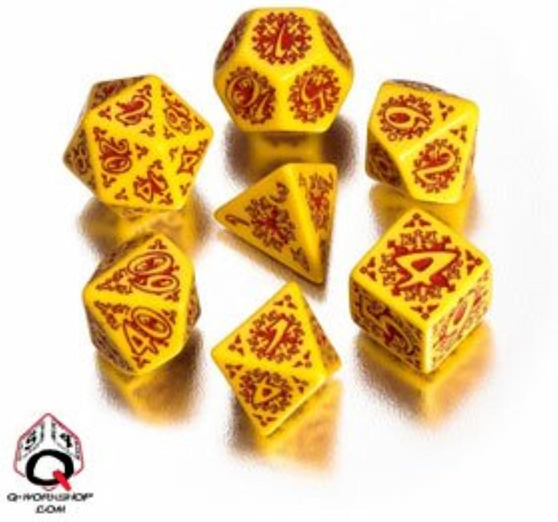 Q-Workshop Polyhedral 7-Die Set  Pathfinder Legacy of Fire Dice (7) B004RQAFLW Vollständige Spezifikation  | Louis, ausführlich
