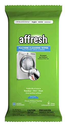 Antibacterial Hand Wipes Affresh W10355053 Washing Machine Cleaner | Cleans Front Top Load Washers, Including