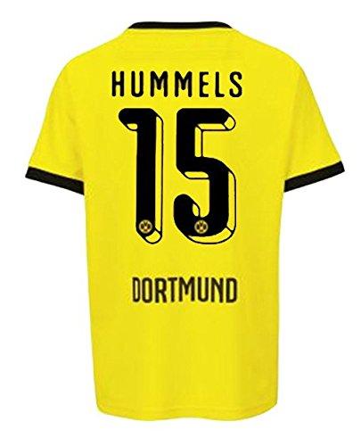 BVB BORUSSIA DORTMUND International Trikot Herren 2016 - HUMMELS 15, Größe:4XL
