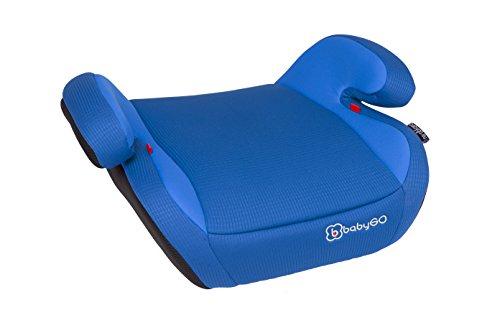 BabyGO 3602 ECE R44/04 Sizfläche, Sitzbezug abnehmbar und waschbar, weich, groß