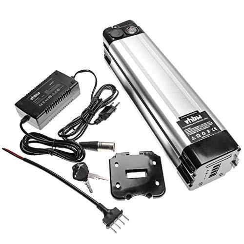vhbw Batería de Tubo de sillín 8,8Ah 48V Li-Ion Incl. Cargador Compatible...