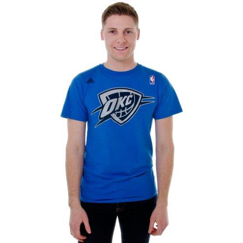adidas Kevin Durant #35 Oklahoma City Camiseta (talla XXL), color azul