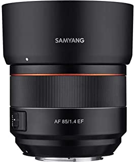 Samyang 85mm F1.4 Auto Focus Full Frame Weather Sealed High Speed Telephoto Lens for Nikon F Mount