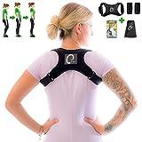 OTsports Rückengeradehalter Rückenkorrektor für eine gesunde Körperhaltung gegen Rückenschmerzen -