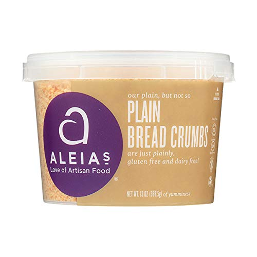 Aleia's Gluten Free Plain Bread Crumbs 13 oz, Pack of 1