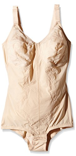 Playtex 2859 Kzg Korselett D-cup, Body modellante, Donna, Beige, 5D IT