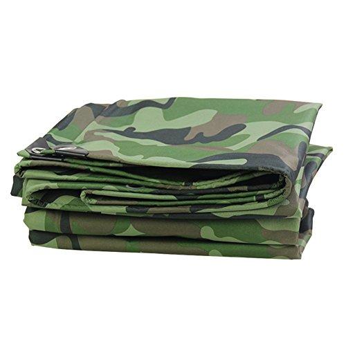 JXXDDQ - Lona de camuflaje impermeable para camping, pesca, diseño de camuflaje (tamaño: 4 x 8 m)