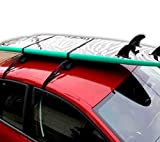 Dorsal Premium Single Wrap Surfboard Soft Racks Pad and Strap (2) FCS Block