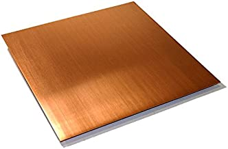 110 Copper Sheet, Unpolished (Mill) Finish, ASTM B152, 0.021
